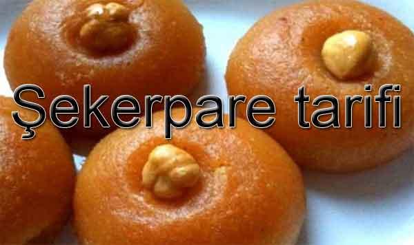 Şekerpare nasıl yapılır? Şekerpare tatlısının tarifi Bayram yatlıları Ramazan