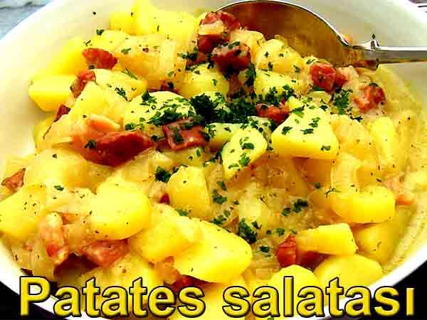 patates salatası nasıl hazırlanır ve yapılır tarifleri Kartoffelsalat Recente Kartoffel salat
