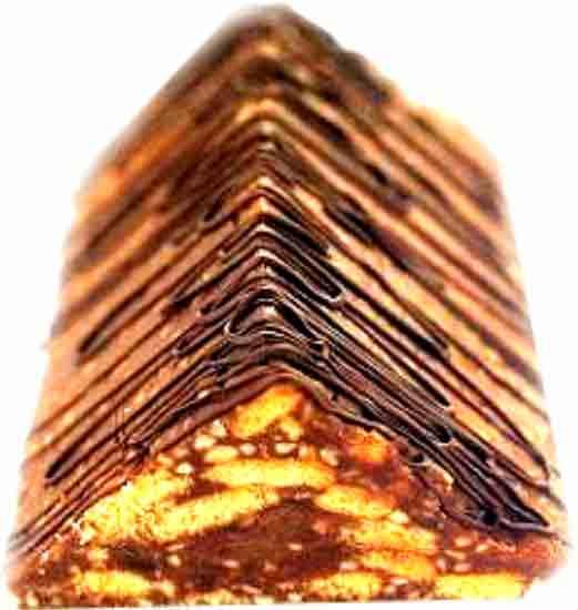 Mozaik pasta piramit kek yapımı tarifleri