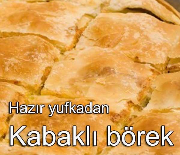 Çapulcu Böreği - Hazır yufkadan kabaklı börek tarifi | Nasıl Yapılır