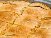 Çapulcu böreği - Hazır yufkadan kabaklı börek tarifi