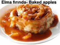Elma fırında Baked apples tarifi