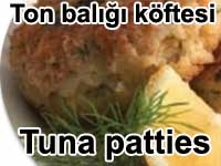 Ton bal��� k�ftesi - Tuna patties tarifi