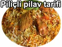 Piliçli ve tavuklu pilav tarifi Pilav tarifleri