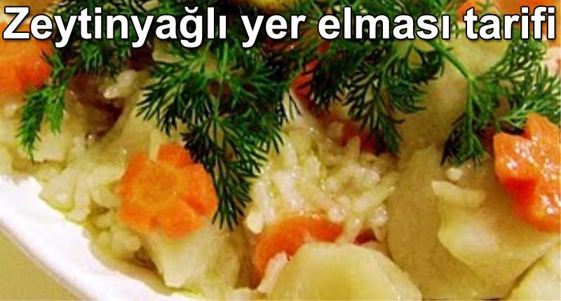 Zeytinyağlı yer elması tarifi Zeytinyağlılar zeytinyağlı yemek tarifleri | Şirin Gurme kolay ve pratik ev yemekleri yemek tarifleri yemekler tarifi tarifler