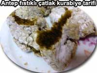 Antep fıstıklı çatlak kurabiye tarifi