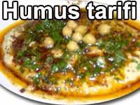 Humus tarifi - Hatay İskenderun Antep ve Adana yemekleri, mezeler