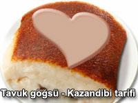 Tavuk göğsü / Kazandibi tarifi