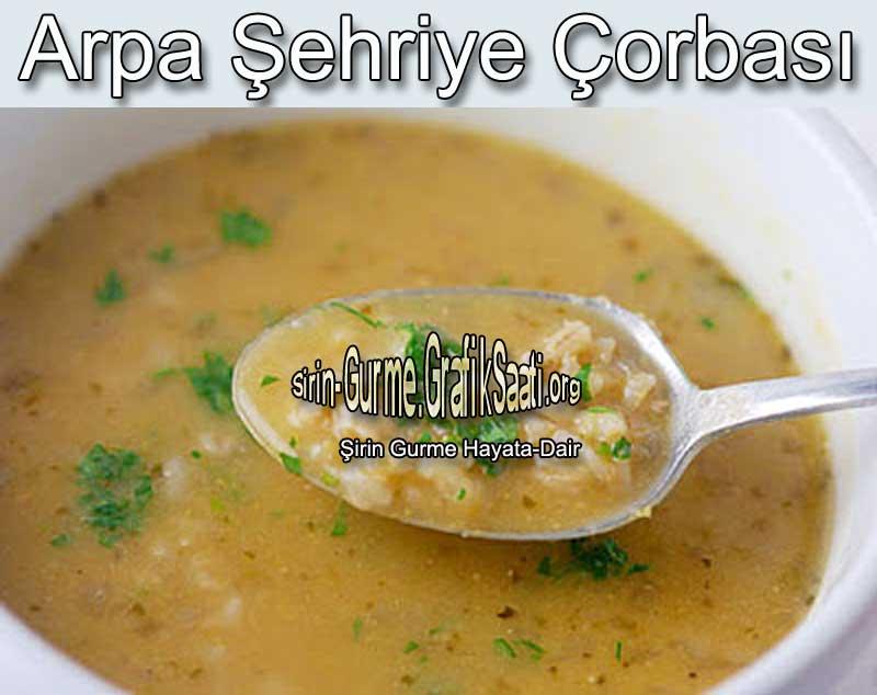 Arpa sehriye corbasi nasıl yapılır tarifi Arpa şehriye çorba tarifleri arpa şehriye çorbası Çorbalar tarifler